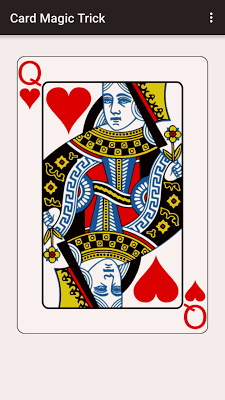 Card Magic Trick - screenshot