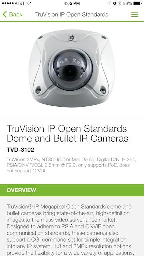 TruVision IP Camera Selector