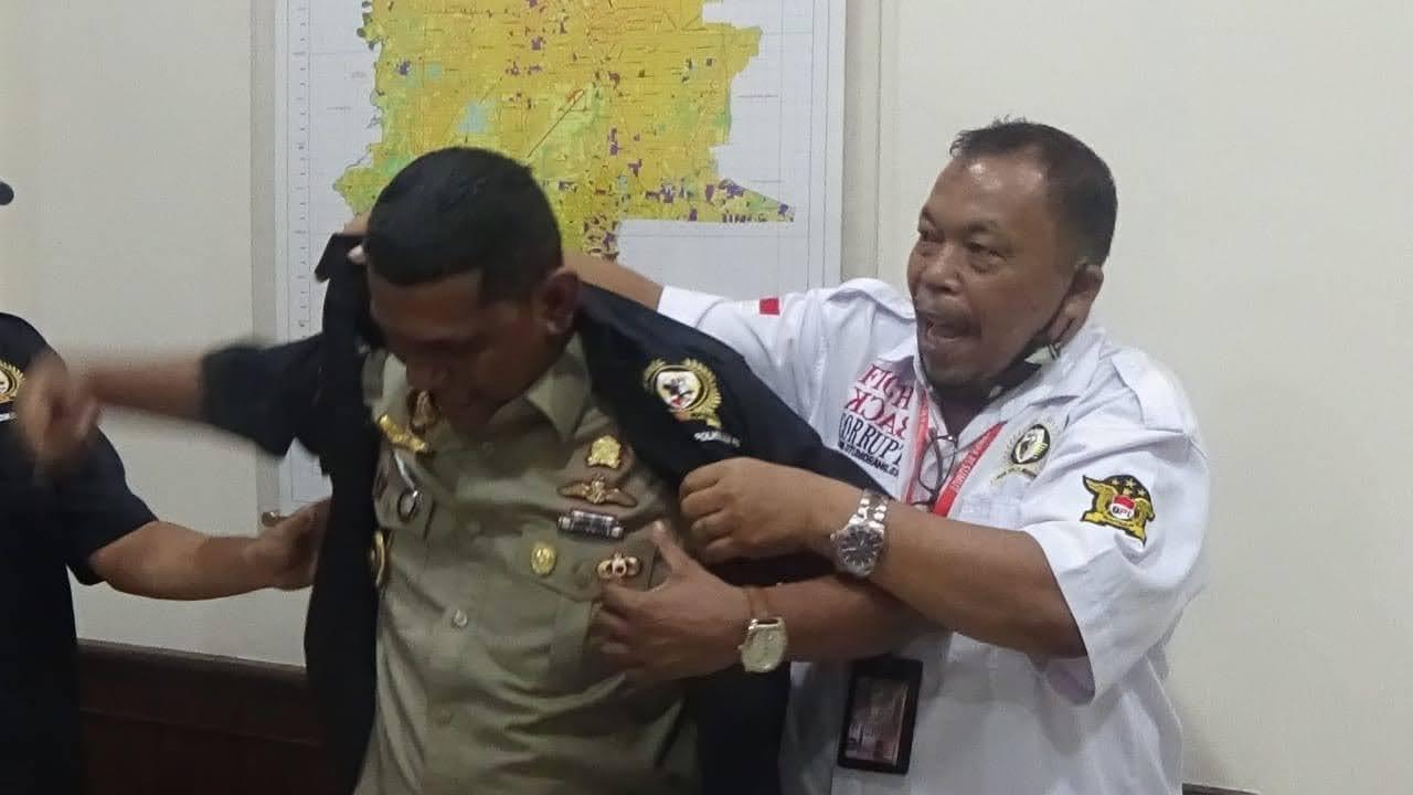 Ketua DPW BPI KPNPA RI Sumut Bersilahturahmi dan Bersinergi Dengan Kepala Kantor Pertahanan Kota Medan