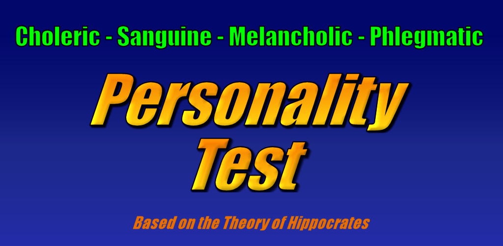 Test phlegmatic personality The Four
