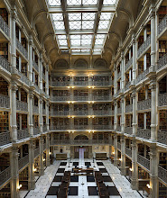 Photo: George Peabody Library, Johns Hopkins University, Baltimore, MD