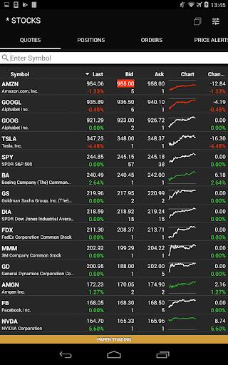 ETNA Trader Mobile screenshot 9