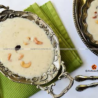 Aval Payasam, Rice Flakes Kheer, Poha Kheer.