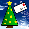 Christmas & New Year 2016 card icon