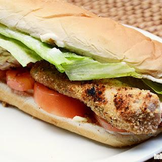 Crunchy & Crispy Chicken Sandwich.