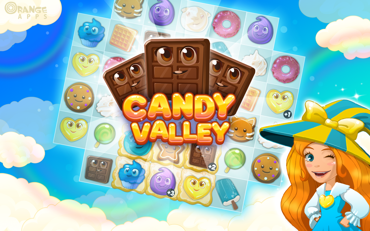Candy Valley- screenshot