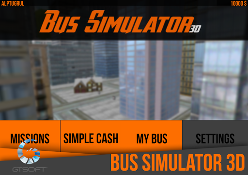3D Bus Simulator Mobile