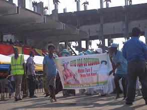 Photo: Another Eyo Group, Eyo Iga Opeluwa on parade