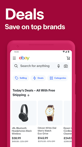 eBay - Buy, sell and discover deals on top brands screenshot 2