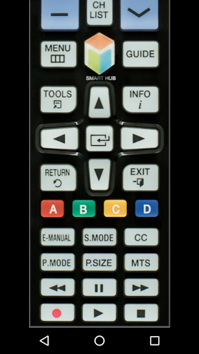 TV Remote Control for Samsung (IR - infrared) 0.0.7 screenshots 2