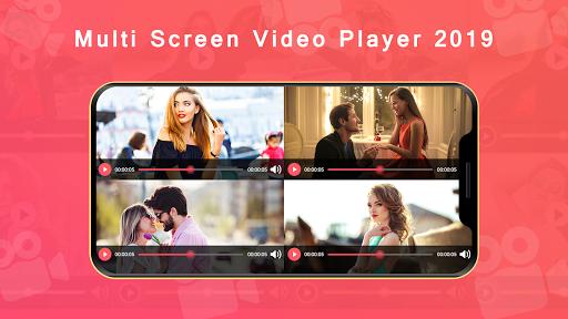 Multi Screen Video Player 2019 2.0 screenshots 2