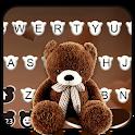 Brown Teddybear Keyboard Theme icon