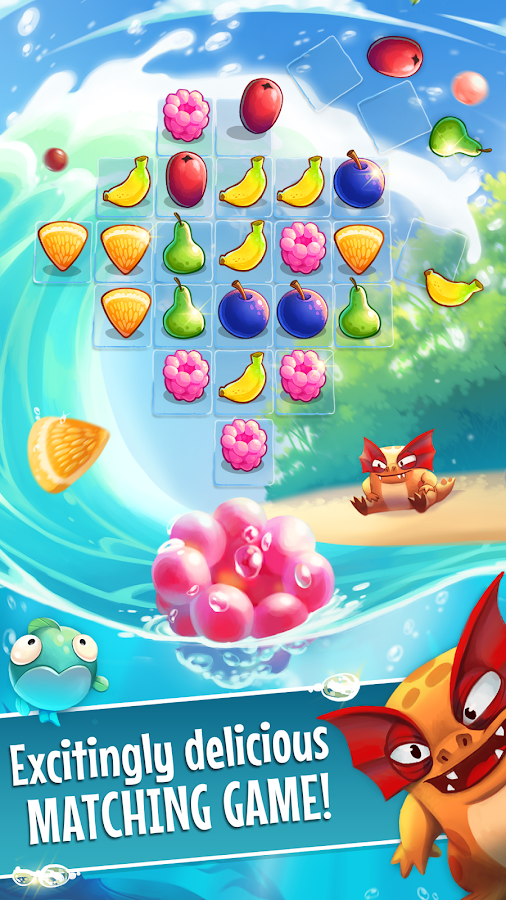 Screenshots of Fruit Nibblers for iPhone