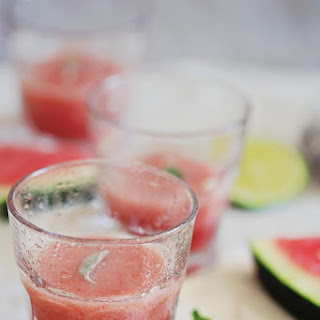 Watermelon Cucumber Slush Recipe