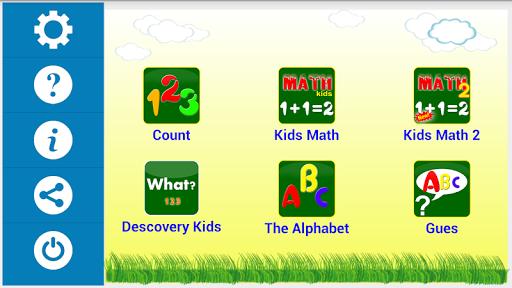子供たちは学ぶ - 数学アルファベット&ナンバー