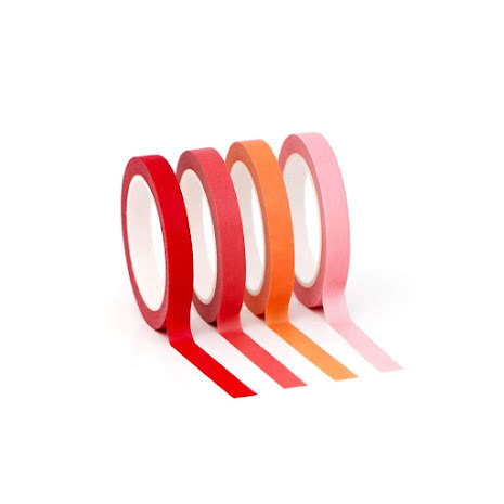 Altenew Washi Tape - Red Sunset Slim