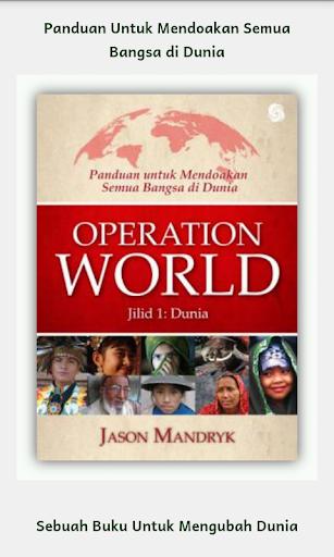 Doa seDunia -- Operation World