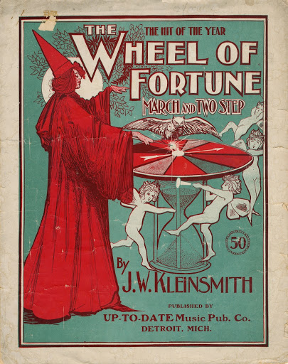 Sheet music:The Wheel OF Fortune March-Two Step