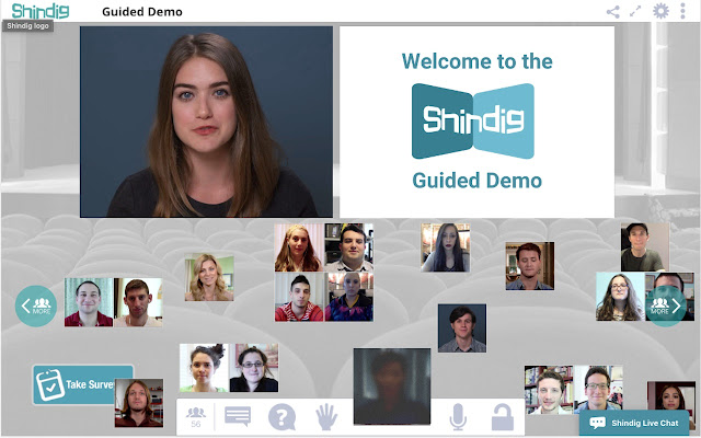 Shindig Screen Share