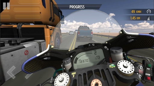 Course de moto APK MOD screenshots 2