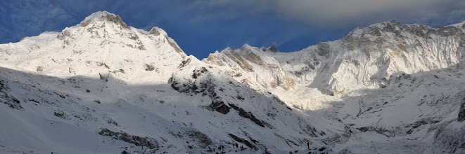 Photo: ABC (Annapurna S, Fang et Annapurna I)
