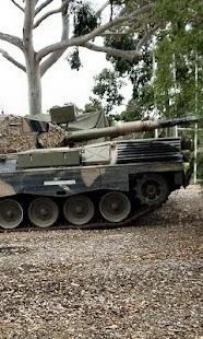 Wallpapers Battle tank Leopard - náhled