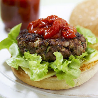 Lamb Burger with Tomato Sauce