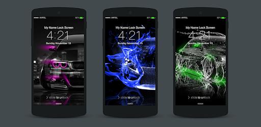 Приложения в Google Play – Neon <b>Cars</b> Lock <b>Screen</b>