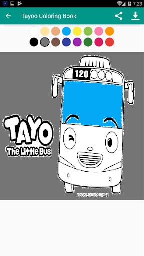 Tayo Coloring Book Free 1.2 screenshots 4