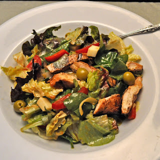 Mediterranean Chicken Salad.