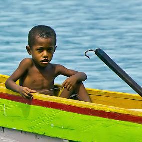 Children of Papua by Bastian M - Babies & Children Children Candids