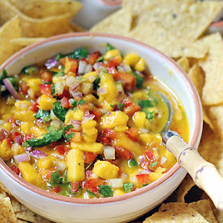 Mango Salsa Recipe (Plus Mango Salsa Crockpot Chicken)