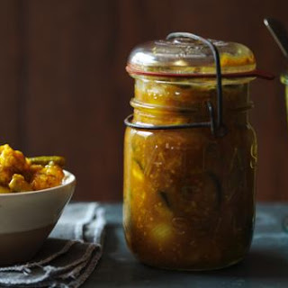Piccalilli with Curry Spices Recipe