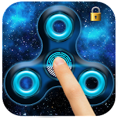 Fidget Spinner Fingerprint lock Screen