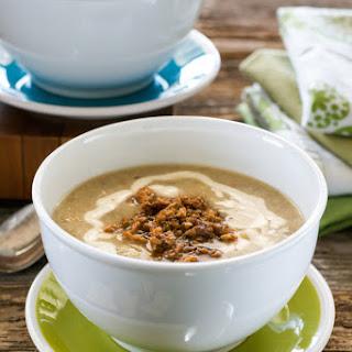 Slow Cooker Stuffed Artichoke Soup