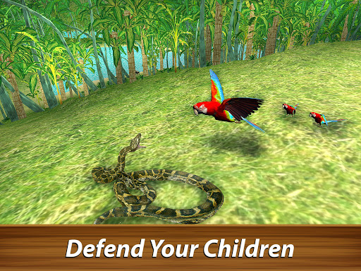 ud83dudc26 Wild Parrot Survival - jungle bird simulator! 1.2.1 screenshots 8