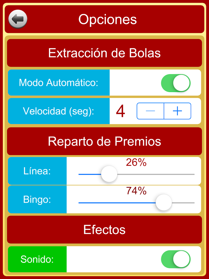 Bingo en Casa- screenshot