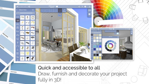 Home Design 3D - FREEMIUM app (apk) free download for Android/PC/Windows screenshot