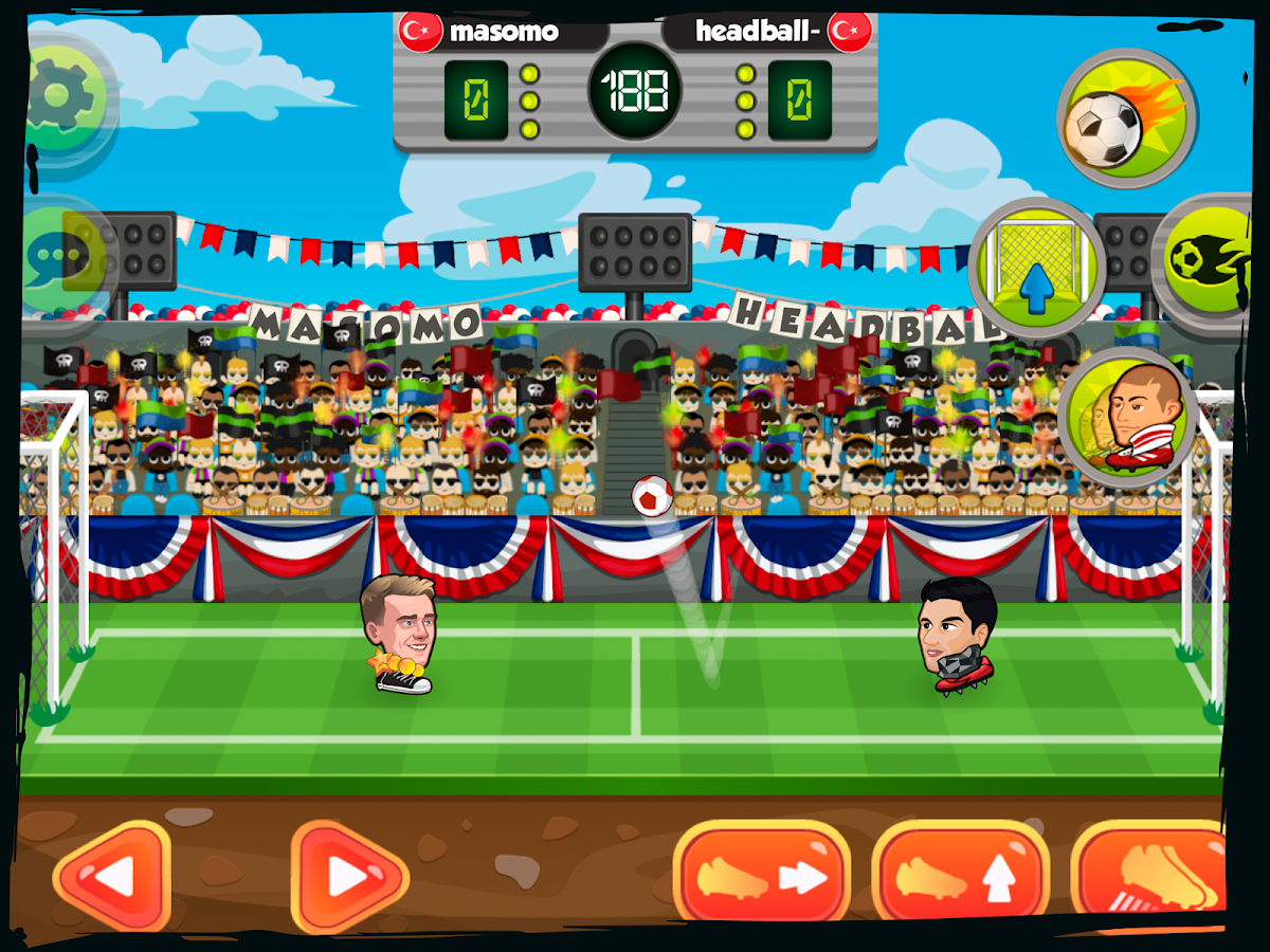 Online Head Ball- screenshot