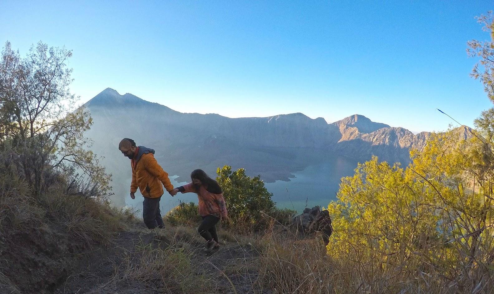 DIAS 60 a 61 - Subir o monte RINJANI em Lombok | Volta ao Mundo