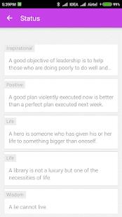 Status Idea - náhled