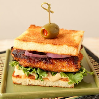 Asian Fish Sandwich with Sweet and Spicy Mayo
