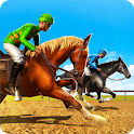 Horse Racing - Derby Quest Race Horse Riding Games icon