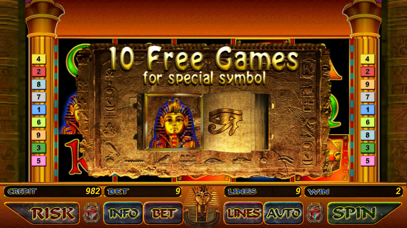 free slot machine egypt