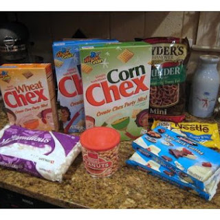 Marshmallow Chex Mix Recipe