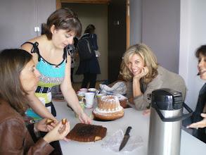 Photo: La secrétaire, Stéphanie Bader et Dr Gazzano, responsable de l'unité du service d'audiophonologie.