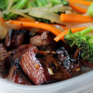 Simple Garlic Beef Stir-Fry