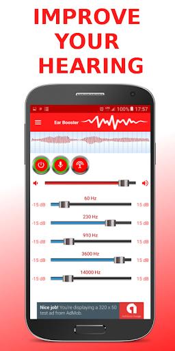 Ear Booster - Better Hearing: Mobile Hearing Aid 1.6.7 screenshots 1