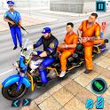 US Police Bike 2020: Prisoner Transport Game icon