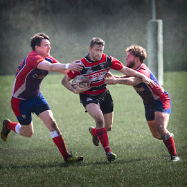 Breaking Through by Lee Sutton - Sports & Fitness Rugby